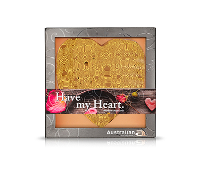 Chocolate heart milk exclusive print