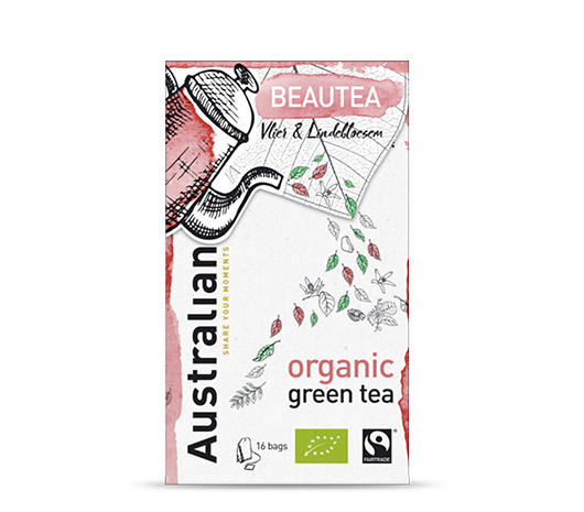 Green tea Beautea 16 x 1,6 gram fairtrade organic
