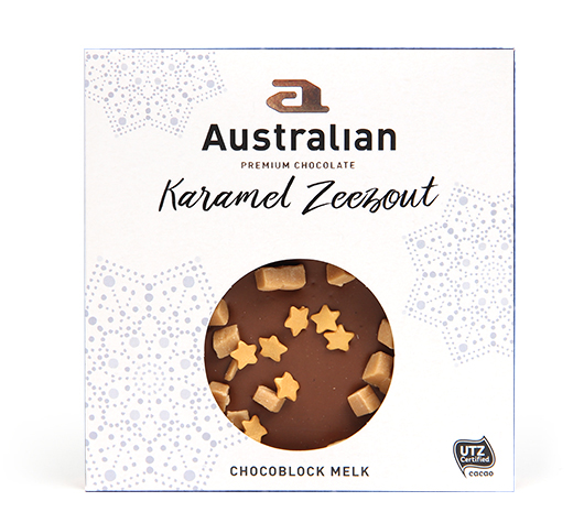 Chocoblock milk caramel sea salt UTZ