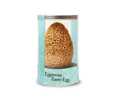 Eggstreme Large Egg Gold Dark